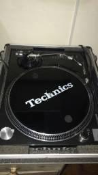 Par Toca discos technics MK2 pretas impecáveis