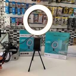 Ring light com suporte