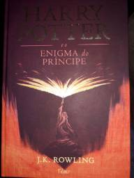 Harry potter e o enigma do Príncipe livro