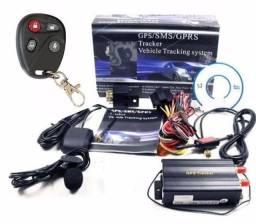 Rastreador alarme tk-103B instalação grátis