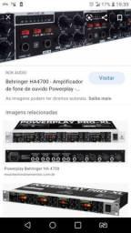 Powerplay - behringer - amplificador de fone de ouvido