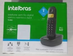 Telefone Sem Fio Intelbras, Ts 2510, Usado por 30 dias, Leia o anuncio com atenção