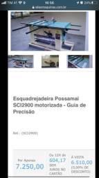 Título do anúncio: Esquadrejadeira inclinável nova, com guia alumínio, 2 cv trifásico