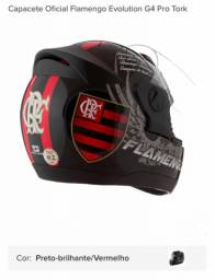 Capacete pro tork Flamengo oficial