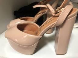 Vendo sandalia nude tam 35