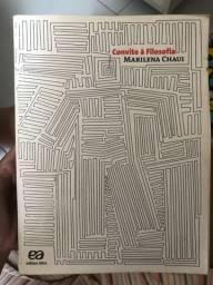 Livro Convite à Filosofia Marilena Chaiu