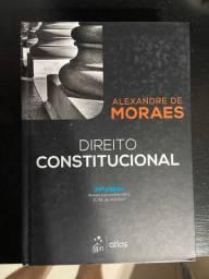 Livro de direito constitucional Alexandre de Moraes