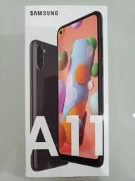 Galaxy A11 64GB Preto - Novo/Lacrado