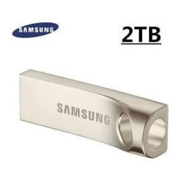 Pendrive 2 Terabytes (Samsung Titanium)..Aceito ofertas,trocas(Linhares-Interlagos)