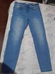 calça jeans nunca usada cigarrete