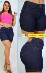 Shorts jeans feminina