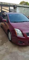 Vendo carro sentra 2.0 só 22 mil, ano 2008, modelo 2009, Carro COMPLETÃO placa final 1