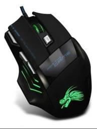 Mouse Para Jogo Gamer Profissional Usb 5500dpi 7 Botões