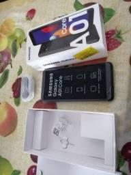 Samsung core A01 zero no precinho, leia...