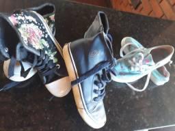Vendo lote de sapatos infantis 50,00