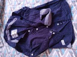 Lote roupas sociais masculina infantil