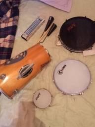 Instrumentos banda de samba e pagode