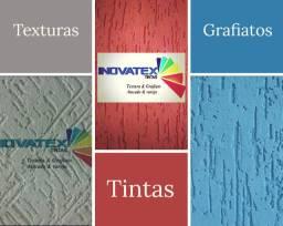 #Textura # Grafiato # Selador #Tinta #Massa corrida