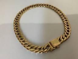 Pulseira Grumet Dupla ouro 18k