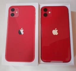 (novo) iPhone 11 256gb Red