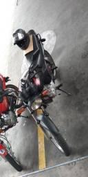 Moto fan 125 ks doc no 20 recibo em branco.