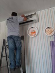 Instalação e desinstalação de ar condicionados