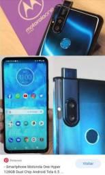 Motorola One Hyper - NOVO - menos de 3 meses de uso