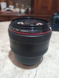 Lente Canon 85mm 1.2 II