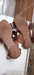 Lote de calçado de menina
