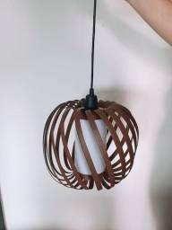 Luminária - lustre - pendente