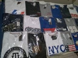 Camisetas, bermudas, bonés,cuecas box