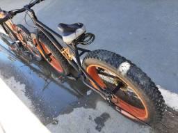 Big bike de alumínio toda em Shimano( presente de natal)