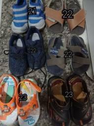 Vendo 6 pares de sapatos