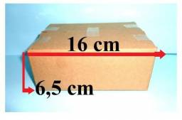 100 caixa papelão embalar correios 16 x 11 x 6 temos envelopes e fitas