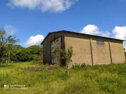Velleda oferece 2 ha com galpão de 150 m² + peça sem telhado