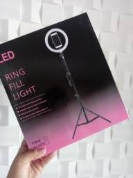 Ring Light iluminador 3 cores