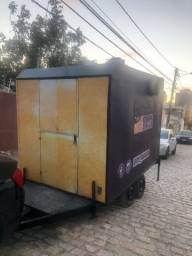 Trailer foodtruck completo