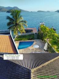 .Seu Imóvel no Rio-Costa Verde-Angra dos Reis Magnífica Residência Frontal Mar