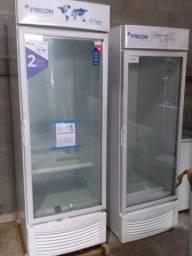 Vendemos refrigeradores vertical porta de vidro 565 litros fricon