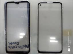Consertamos Tela Vidro Motorola One Zoom / Moto G8 Power / Moto G8 Power Lite