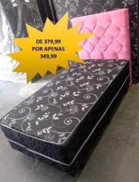 Cama Box com Colchao Acoplado - Entrego