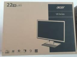"""Monitor LED 21.5"""" Acer V226HQL Full HD Vga Hdmi - Novo, Lacrado e com Garantia"""