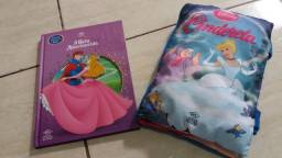 Livro infantil + traveseirinho livro Princesas DCL