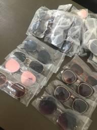 Estoque de óculos 25 peças