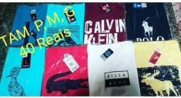 3 camisas Masculina por R$100