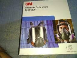 Respirador facial 3D série 6800