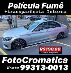 PELÍCULA FOTOCROMÁTICA para carros tipo Creta , Hb20 , kicks , Fiat Toro , Ford ka , Ônix
