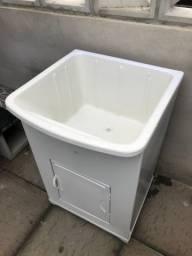 Tanque 50 litros com armário e porta