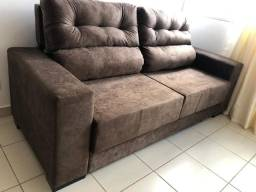 Sofá retrátil e reclinável direito de fábrica