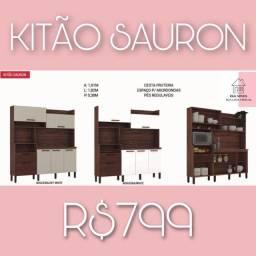 Armário de cozinha sauron armário de cozinha sauron real móveis promoção bzbsnsn